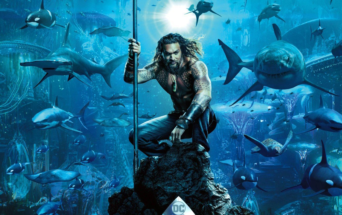 Jason Momoa's Aquaman gets spectacular first trailer at Comic-Con