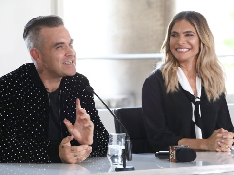Ayda Field justifies her place on X Factor 2018 panel: 'Robbie would be lost without me'