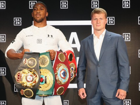 Anthony Joshua tickets for Alexander Povetkin fight go on sale next week – when and where to buy them