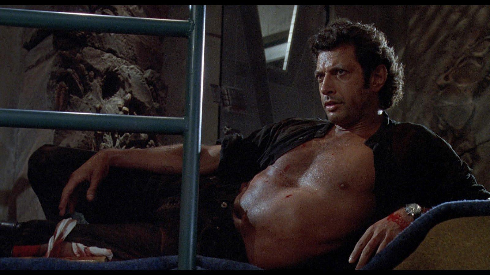 Jeff Goldblum statue Credit: Universal Pictures
