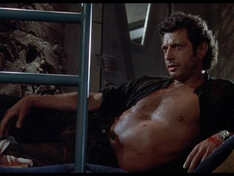 Jeff Goldblum was nearly written out of Jurassic Park by Steven Spielberg