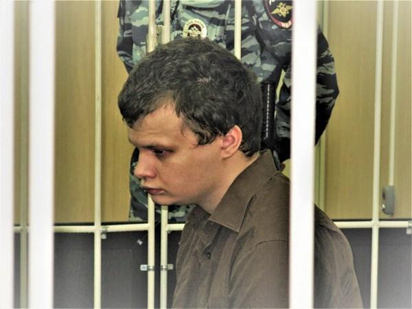 Dmitry Luchin in court