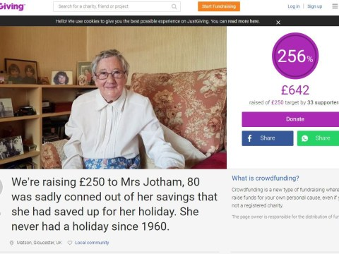 Widow's holiday saved after kind-hearted strangers donate to send her on first trip since 1960