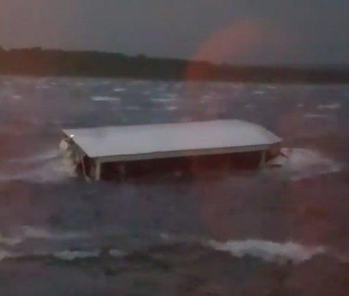 Boat capsizes killing eleven people in Branson, Missouri