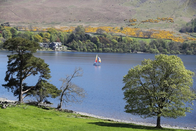 File photo dated 9/5/2017 of Ullswater, Cumbria. United Utilities, which supplies the North West, has asked for permission to take more water from three lakes in Cumbria to safeguard supplies, applying for drought permits for Ullswater and Windermere and a drought order for Ennerdale. PRESS ASSOCIATION Photo. Issue date: Friday July 20, 2018. See PA story WEATHER Hot. Photo credit should read: Owen Humphreys/PA Wire