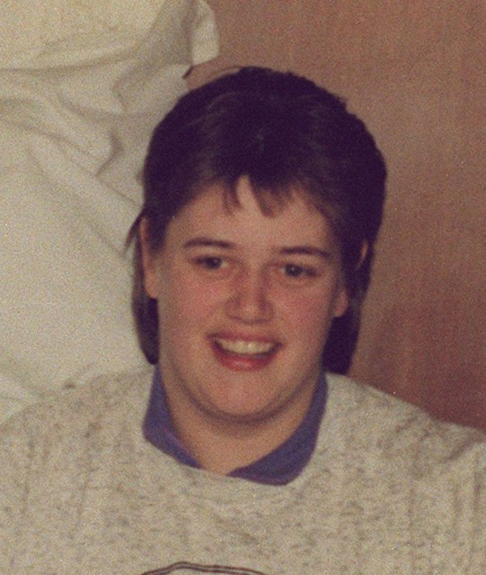 COLLECT PICTURE OF BEVERLEY ALLITT ( RIGHT) THE NURSE AT THE CENTRE OF THE BABY MURDERS STORY. SHE IS PICTURED WITH SUSAN PHILLIPS AND SURVIVING TWIN KATIE. THE GRANTHAM AND KESTEVEN HOSPITAL. CENTRAL TV PIC. Z4