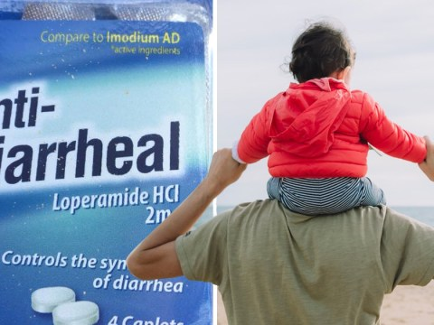 Dad's four-year-old daughter adorably guides him through diarrhoea
