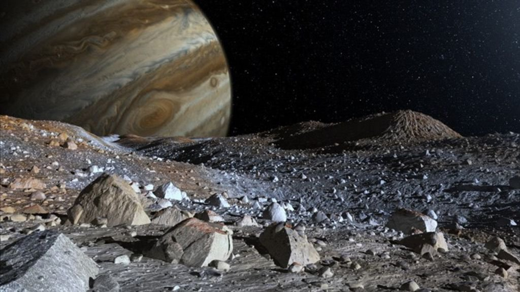 Evidence of subterranean aliens could be lurking underground on Jupiter's mysterious frozen moon