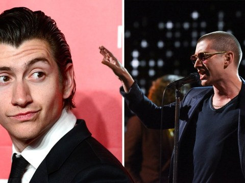 Arctic Monkeys' Alex Turner debuts shaved head as he performs The Ultracheese and utterly shocks fans