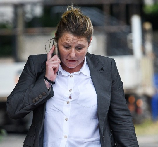 Jenny Lee Clarke arrives at Cardiff Crown Court, where she is on trial accused of defrauding Parliamentary expenses body IPSA whilst working for the MP for Swansea East, Carolyn Harris, as an office manager. PRESS ASSOCIATION Photo. Picture date: Tuesday July 24, 2018. Mrs Harris has told the court that she never authorised a payrise for Ms Clarke, who is alleged to have forged her signature on the authorisation form. See PA story COURTS Swansea. Photo credit should read: Ben Birchall/PA Wire