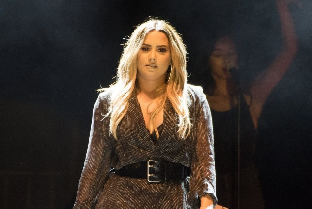 FILE - JULY 24: It was reported July 24, 2018 that Demi Lovato has been hospitalized after a possible overdose. PASO ROBLES, CA - JULY 22: Demi Lovato performs during the 2018 California Mid-State Fair on July 22, 2018 in Paso Robles, California. (Photo by C Flanigan/Getty Images)
