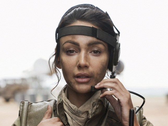 Television Programme: Our Girl STARRING: MICHELLE KEEGAN