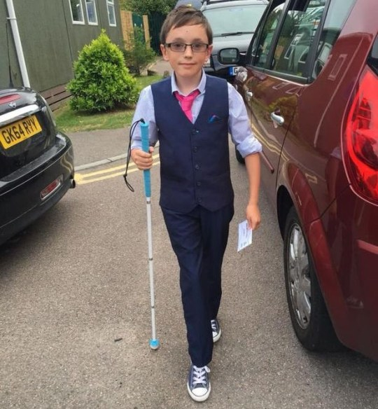 A desperate mother with a 14-year-old boy about to lose his sight has added her voices to calls for cannabis to be legalised for medicinal use. Sam Clark, 14, was diagnosed with retinitis pigmentosa - a rare, genetic disorder that involves the breakdown and loss of cells in the retina - at four-years-old. caption: Sam Clark, 14, was warned by doctors he would lose his sight as a teenager