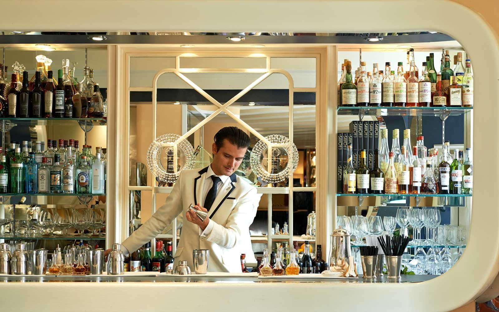 The American Bar at the Savoy (Picture: The American Bar at the Savoy (Picture: Savoy)