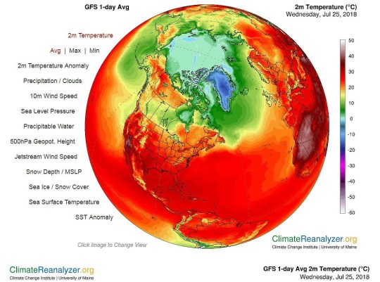 Climate map update Picture: climatereanalyzer.org REF: https://climatereanalyzer.org/wx/DailySummary/#t2