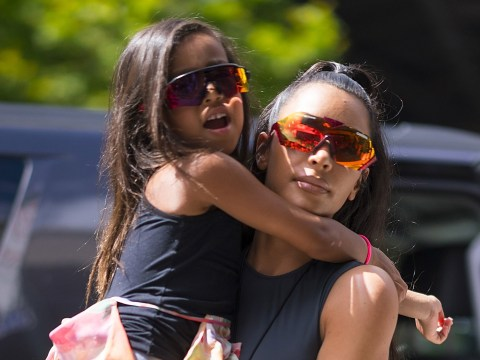 Kim Kardashian 'dines at separate table' to North West and nanny