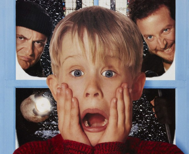 home alone in
