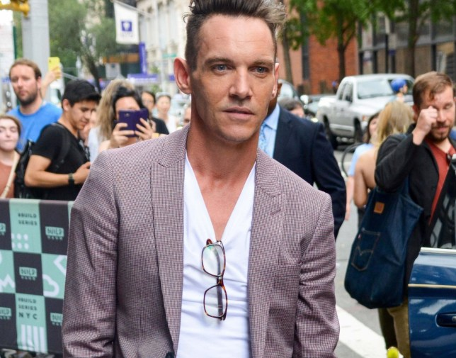 Celebrities out and about in NYC Featuring: Jonathan Rhys Meyers Where: NYC, New York, United States When: 27 Jul 2018 Credit: Patricia Schlein/WENN.com