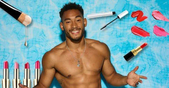 Picture: Getty, Rex Love Island Josh, a woman's make-up has nothing to do with you