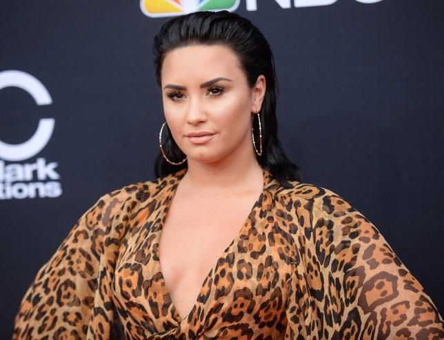 Mandatory Credit: Photo by Broadimage/REX/Shutterstock (9686580ea) Demi Lovato Billboard Music Awards, Arrivals, Las Vegas, USA - 20 May 2018 2018 Billboard Music Awards - Arrivals