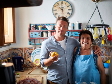 Jamie Oliver cooks with elderly women who were 'hallucinating, getting dizzy and falling asleep' in the kitchen