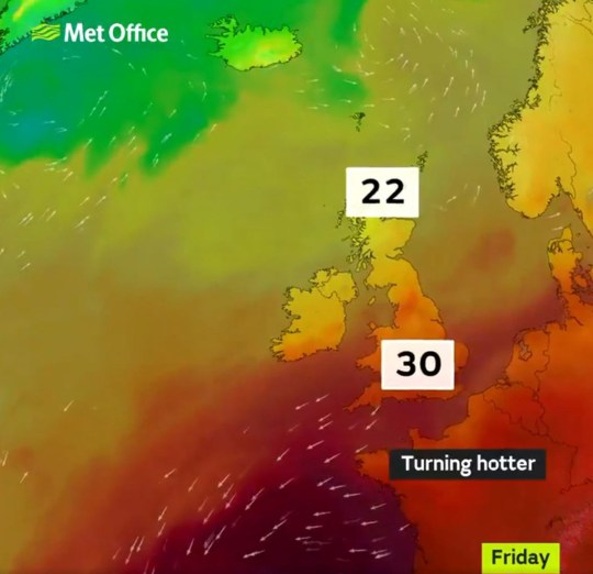 Heatwave is on its way back Met Office