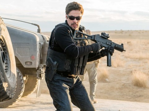 Benicio del Toro's Sicario sequel smashes box office as Emily Blunt is written out of story