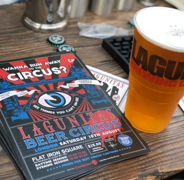 The Lagunitas Beer Circus is coming to town (Picture: Bar Fox)