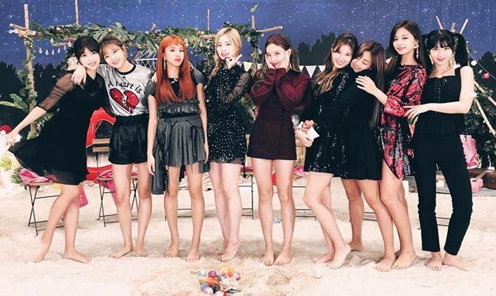 K-pop girlband TWICE