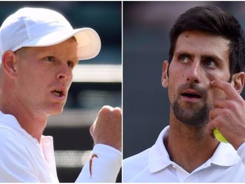 Novak Djokovic pays tribute to Kyle Edmund as British number one sets up Wimbledon showdown