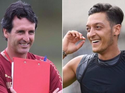 Unai Emery predicts Mesut Ozil will have 'big season' with Arsenal