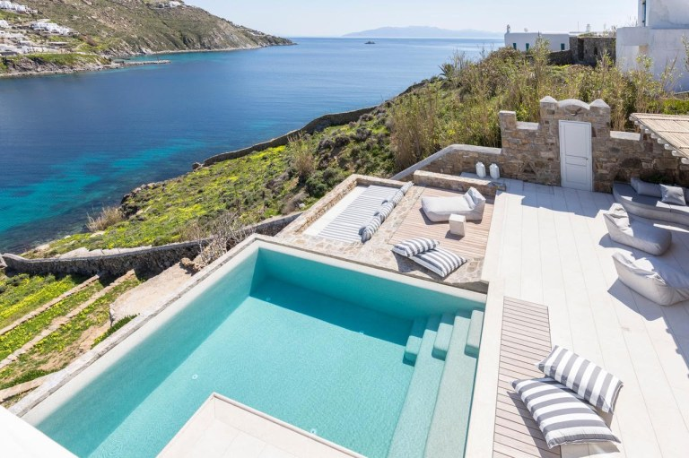 Kensho's Villa Ornos in Mykonos (Picture: Kensho)