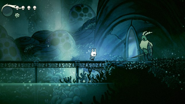 Hollow Knight (NS) - filled with bugs, but that's a good thing