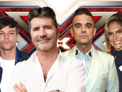 When is The X Factor on this Saturday and Sunday and who are the 2018 judges?