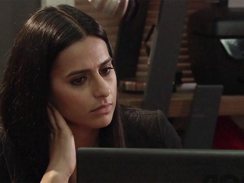 Corrie spoilers: Aidan Connor's last message stuns Alya Nazir