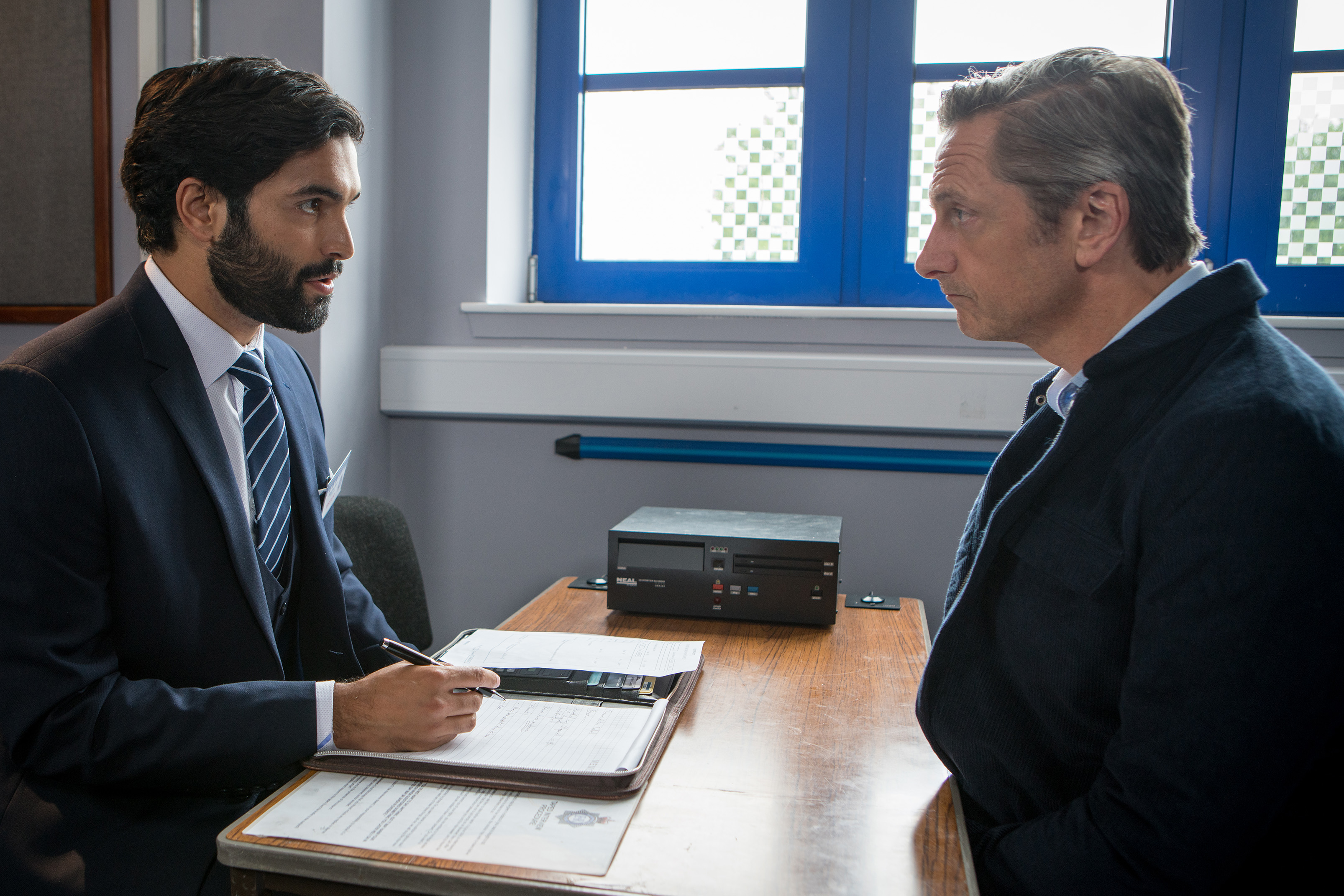Duncan lies to Imran about Sally in Coronation Street