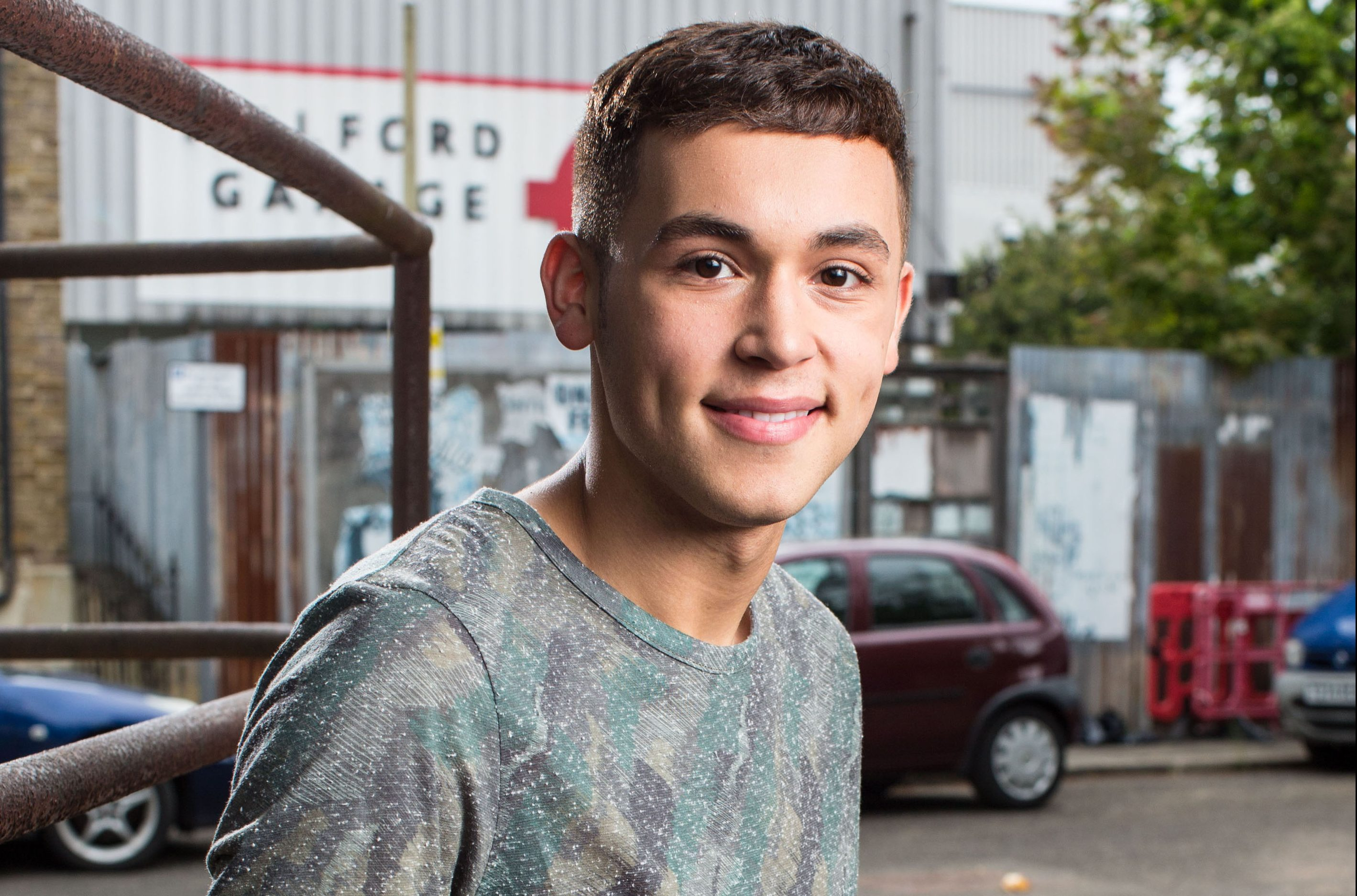 EastEnders star Shaheen Jafargholi on his Casualty role, his closeness to Walford friends and Bonnie Langford's exit