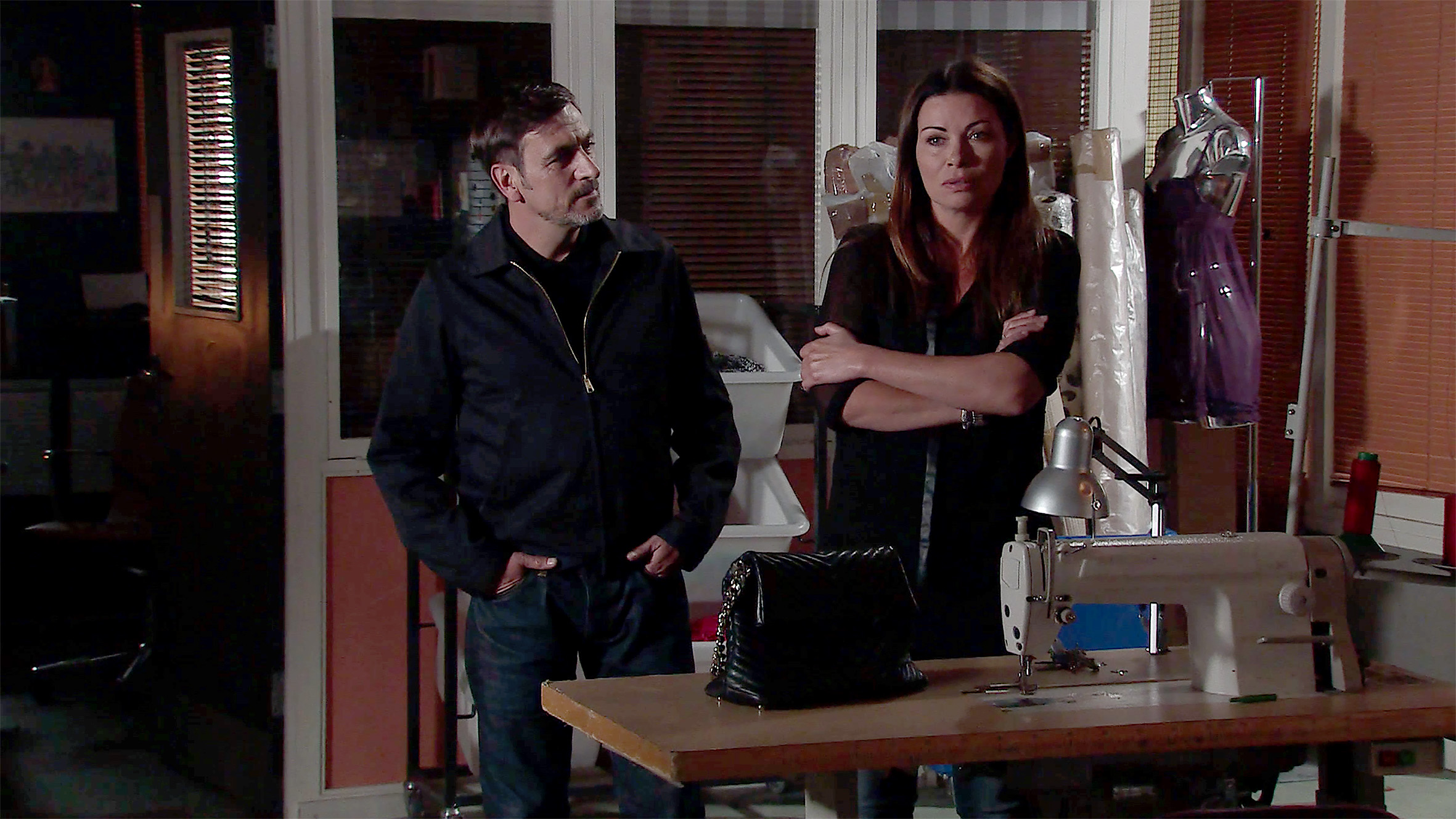 Carla and Peter make plans in Coronation Street