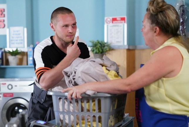 Karen drops a bombshell on Keanu in EastEnders