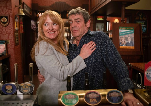 Jenny and Johnny reveal the new Rovers