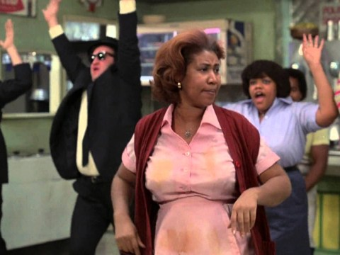 Remember when Aretha Franklin stole The Blues Brothers film with her sass?