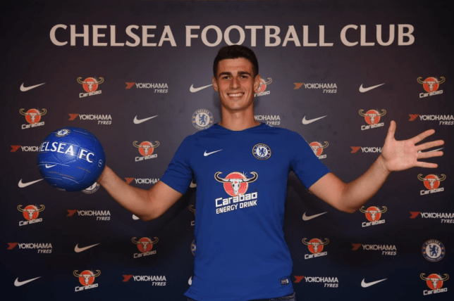 Chelsea announce signing of Kepa in record deal (Picture: Chelsea FC)