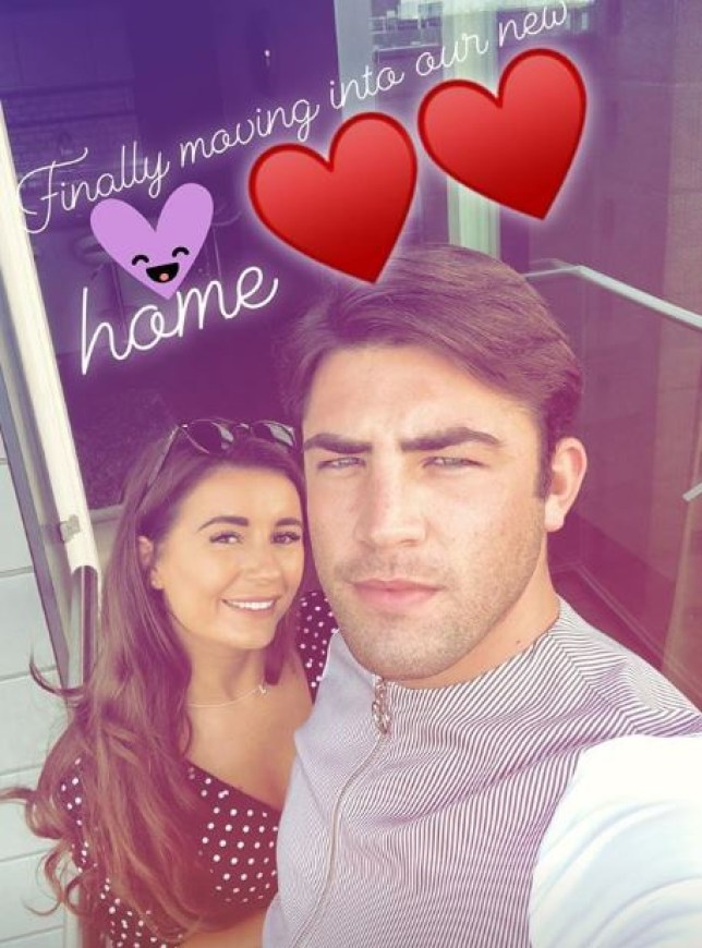 Dani Dyer selfie with Jack