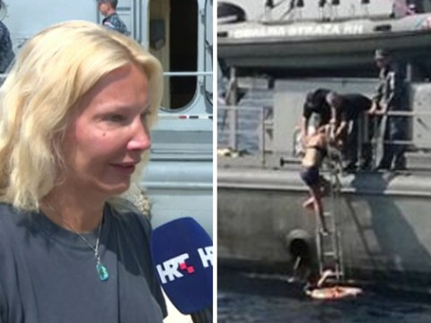 British woman says she's 'lucky to be alive' after falling off cruise ship
