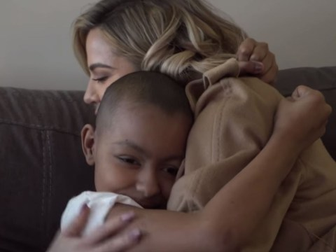 Khloe Kardashian breaks hearts as she meets 10-year-old terminally ill cancer patient who idolises her