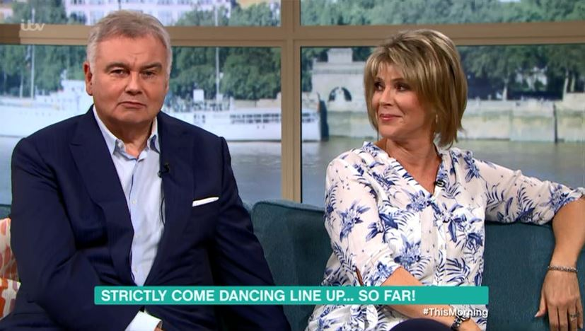 Strictly Come Dancing line-up 2018: Ruth Langsford pretty much confirms Eamonn Holmes is taking part