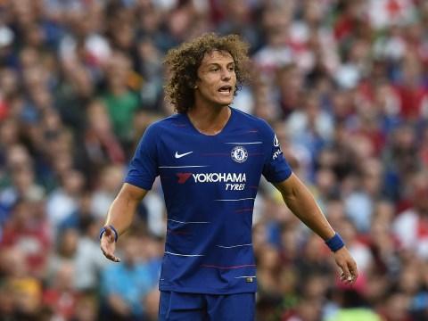 Chelsea defender David Luiz takes swipe at Antonio Conte's playing style