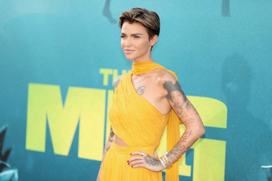 Ruby Rose at The Meg premiere