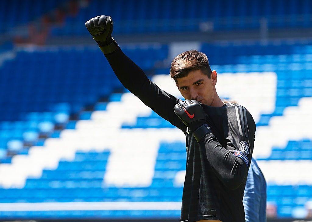 Thibaut Courtois aims dig at Chelsea squad after completing Real Madrid transfer