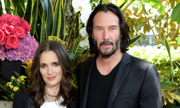 Winona Ryder and Keanu Reeves might be married IRL – and you may have seen the wedding